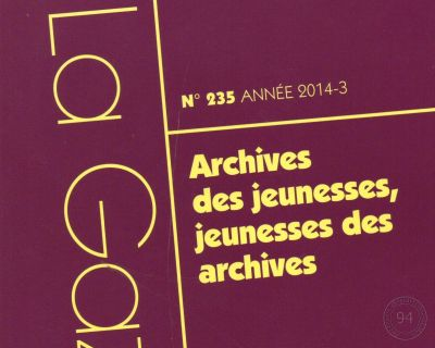 Gazette des archives.